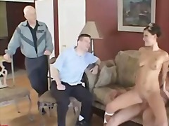 Couple and a pornstar threesome