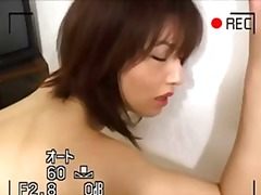 Gorgeous asian babe getting her hairy snatch played with and screwed