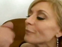 Nina hartley swallows a good load