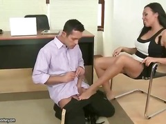 Foot fetish sex movie scenes porno