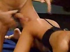 Suzi suzuki & kobe tai - asian masseuse gangbang