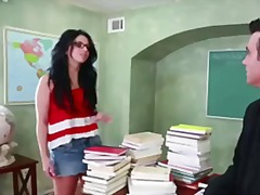 ברונטיות מכללה משקפיים שובבות בית ספר
