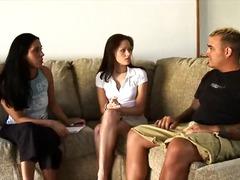 Ménages À Trois Chérie Belles Femmes Noirs Brunettes