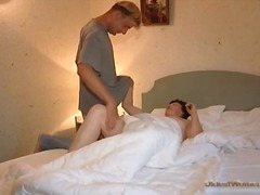 Young man gives granny hole a hard fucking