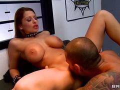 Busty sex goddess allison star starts