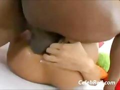 Lizanje Žensko Spodnje Perilo Z Oljem Orgazem Piercing