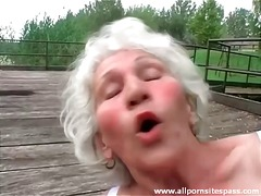 Dildo Granny Haarig