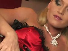 Blond Klassisk Onani Moden Pornostjerne