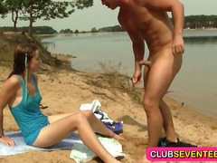 პლაჟი სპერმის ამონთხვევა სექსაობა