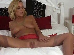 Lexi swallow is a charming blonde