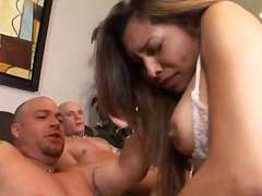 Blowjob Brünette Latina Penetration Double Penetration