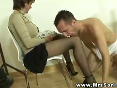 Mrs sonia gets cum from this guy and cant get enough