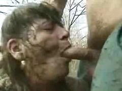 Granny fucked in the mudgranny