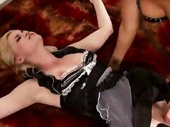 Blondi Ruskea Korot Lävistys Tussu