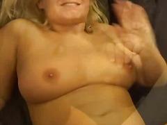 Blond Spermadusche Cumshot Ins Gesicht Spritzen Gangbang