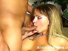 Shemale dayane takes a cock up her ass