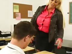 Röv Blond Bystig Högskola Första
