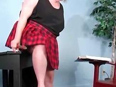 Dones Grasses (Bbw) Masturbació Pèl-Roges En Solitari Joguina