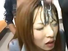 Azjaci Bukkake Wytrysk Na Twarz Japończycy