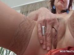 Vanaema Hardcore Masturbeerimine Küps Milf