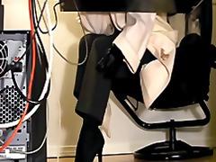 كاميرا مخفية ملابس داخلية نكاح اليد في المكتب