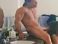 Šikna Oralinis Seksas Brunetės Klasika Spermos Šaudymas