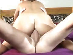Beautiful looking chick gets her anal for the day!