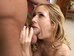 Blond Blowjob Pärchen Cumshot Deepthroat