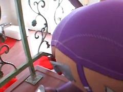 Annette anal drilled till gape