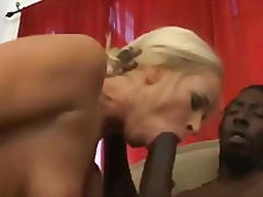Blondes Hardcore Interracial Éjaculation Féminine Avaler