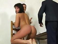 Brunetky Dildo Dominy Ponižovanie Masturbácia