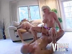 Double penetrated bitches hardcore