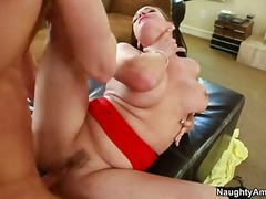 Gorgeous dark haired tory lane enjoys