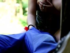 Moletky Pysky Oblečené Ženy Na Koníka Muži V Dámskom