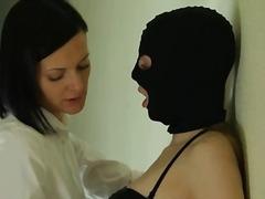 Beib Brünetid Dildo Lesbi Seksimänguasi
