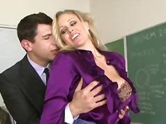 Milf teacher julia ann with huge