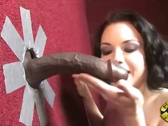 Tatianna kush at a gloryhole