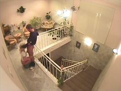 זוג מצלמה נסתרת ריגול ווייר עמוק לגרון