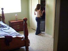 Скриено Секси женска облека Шпиун Шпиунирање