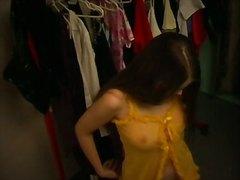 לבושים מצלמה נסתרת ריגול ווייר בחורה
