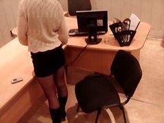 Τακούνια Κρυφό Αυνανισμός Γραφείο Κατάσκοπος