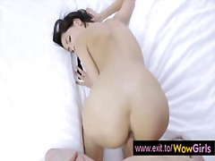19 years beauty paula fucked to anal orgasm