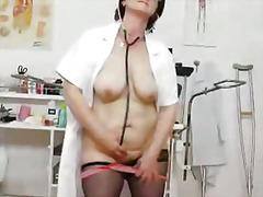 Мастурбација Зрели За Секс Мајка Медицинска Сестра
