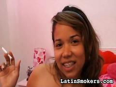 Fetiš Hardcore Jihoameričanky Kouření