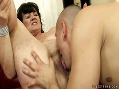 Ugly grandma getting fucked hard by reno78