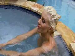 Amerikansk Rumpe Babe Store Bryster Bikini