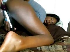 Mustanahaline Lähivõte Tõmmu Masturbeerimine Tissid