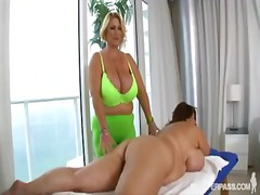 Busty bbw pornstars samantha 38g and maria moore in hot lesbian sex