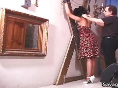 סאדו שעבוד ברונטיות פטיש עקרת בית