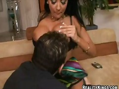 Hot fuck with a passionate girlfriend named audrey bitoni and john strong